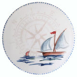 "Sailboat Trivet/Cheese Board, 8"", Set of 2 by Abbiamo Tutto"
