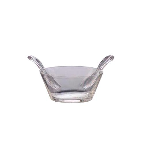 "Acrylic Salad Bowl with Servers, 10"", by Marioluca Giusti"