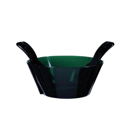 Acrylic Salad Bowl with Servers, 10