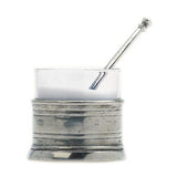 Salt Cellar with Spoon by Match Pewter