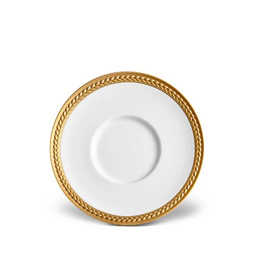 Soie Tressee Gold Saucer by L'Objet
