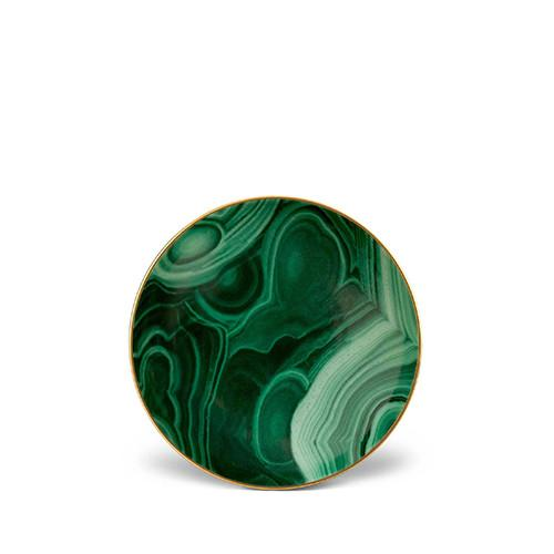 Malachite Small Dish by L'Objet