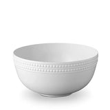 Perlee White Serving Bowl by L'Objet