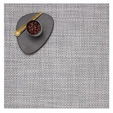 Chilewich: Basketweave Woven Vinyl Square Placemats set of 4 Grey