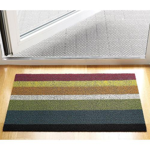 Shag Bold Stripe Indoor/Outdoor Rug by Chilewich