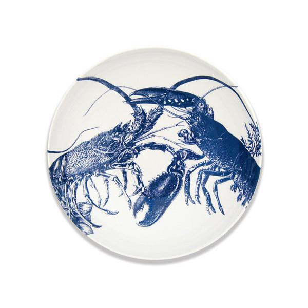 "Blue Lobster Bowl, 13"" by Caskata"