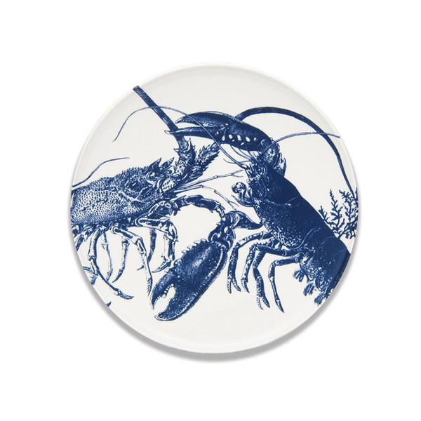 "Blue Lobster Platter, 12.25"" by Caskata"
