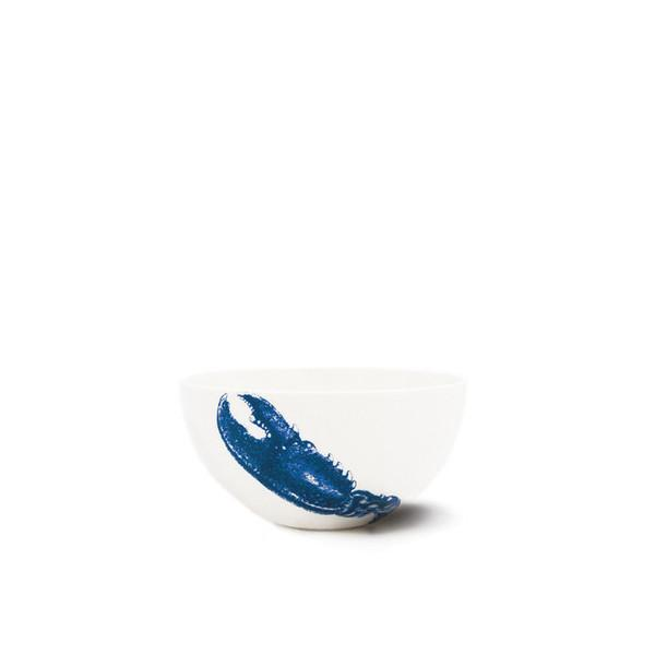 "Blue Lobster Bowl, 4"" by Caskata"