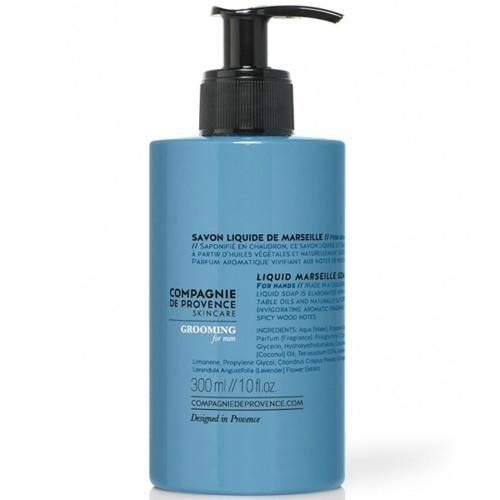 Men's Collection: Marseille Liquid Soap by Compagnie de Provence