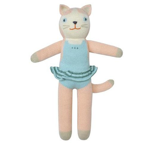 Splash the Cat Knit Doll by Blabla