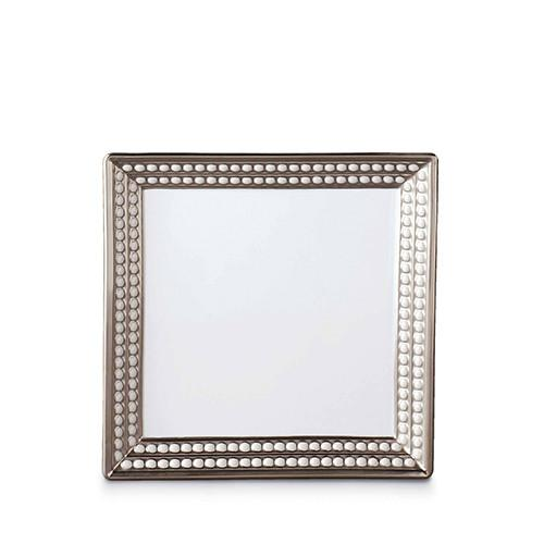 Perlee Platinum Square Tray by L'Objet