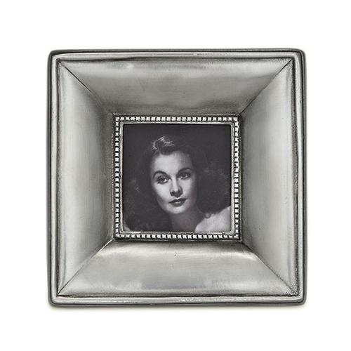 Como Small Square Frame by Match Pewter