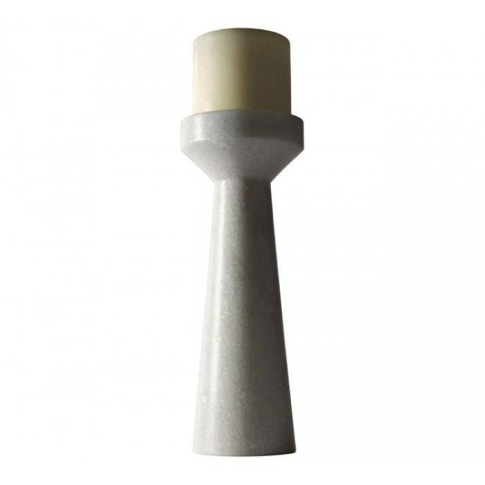 Stone Candle Holder, Tall by Tom Dixon