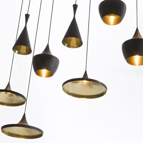 Beat Wide Pendant Light by Tom Dixon
