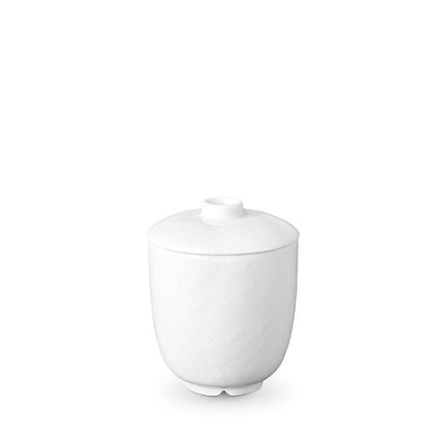 Han White Sugar Bowl by L'Objet