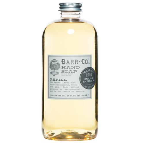 Barr-Co. Sugar & Cream Natural Vegetable Hand Soap Refill