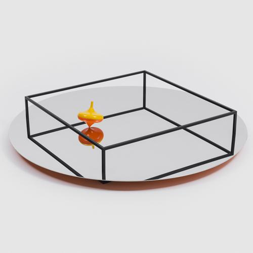 Surface + Border No. 1 Tray by Ron Gilad for Danese Milano