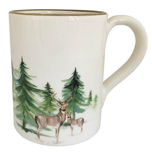 Woodlands Mug with Handle, 15.5 oz., Set of 3 by Abbiamo Tutto