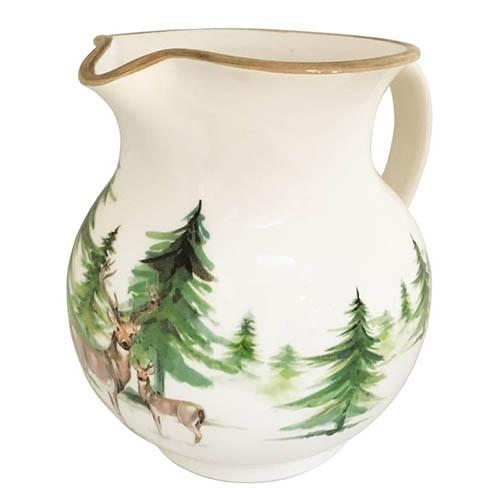 "Woodlands Pitcher, 8"", 64 oz. by Abbiamo Tutto"