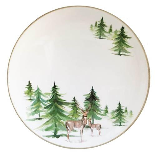 "Woodlands Salad/Dessert Plate, 8"", Set of 6 by Abbiamo Tutto"
