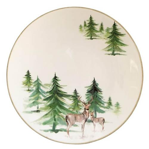 "Woodlands Dinner Plate, 10"", Set of 6 by Abbiamo Tutto"