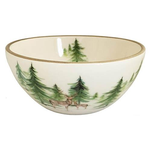 "Woodlands Chowder/Soup/Salad/Dessert/Dipping Bowl, 5.5"", 20 oz., Set of 6 by Abbiamo Tutto"