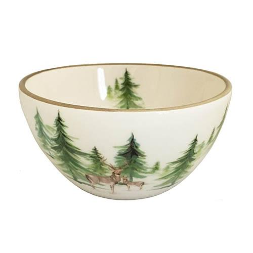 "Woodlands Mini Soup/Salad/Dessert/Dipping Bowl, 4.5"", 8 oz., Set of 6 by Abbiamo Tutto"