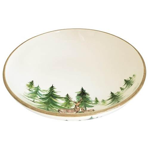 "Woodlands Serving Bowl, 12"", 14 Cups by Abbiamo Tutto"