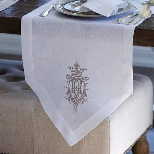 Royal Table Runner by Crown Linen Designs