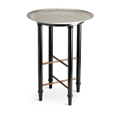 Alchimie Platinum Side Table by L'Objet