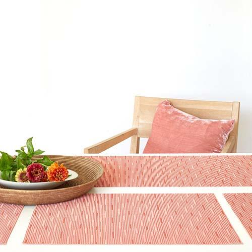 Chilewich: Bamboo Woven Vinyl Placemats, Set of 4