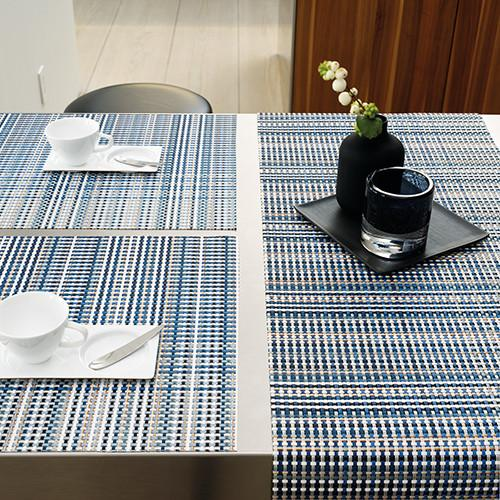 Chilewich: Grid Woven Vinyl Table Runners