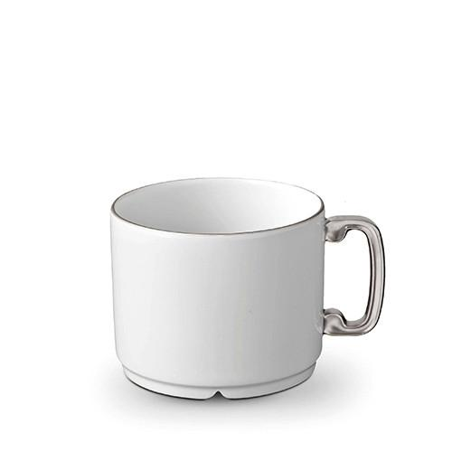 Han Platinum Tea Cup by L'Objet