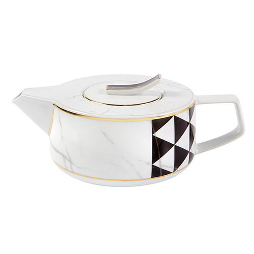 Carrara Teapot by Coline Le Corre for Vista Alegre