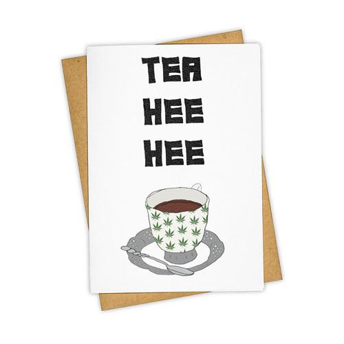 Tea Hee Hee Card