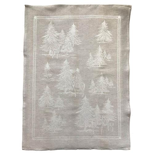"Forest Natural Linen & Cotton Kitchen Towel, 31"" x 23"", Set of 4 by Abbiamo Tutto"