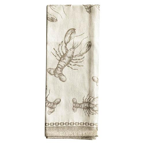 Lobster Natural Cotton Kitchen Towel, 31