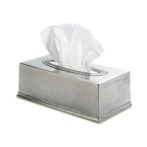 Tissue Box by Match Pewter