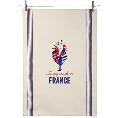 Tissage de L'Ouest Le Coq Made in France Dish Towel