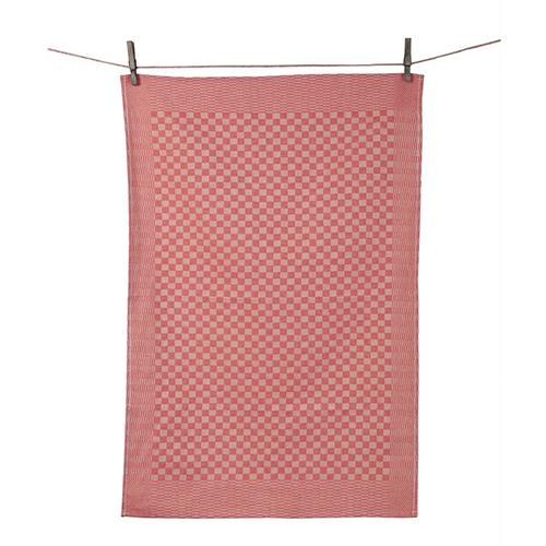 Traditional Checked Dish Towel, set of 2 by Tissage de L'Ouest