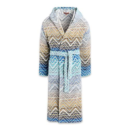 Tolomeo Hooded Bathrobe by Missoni Home