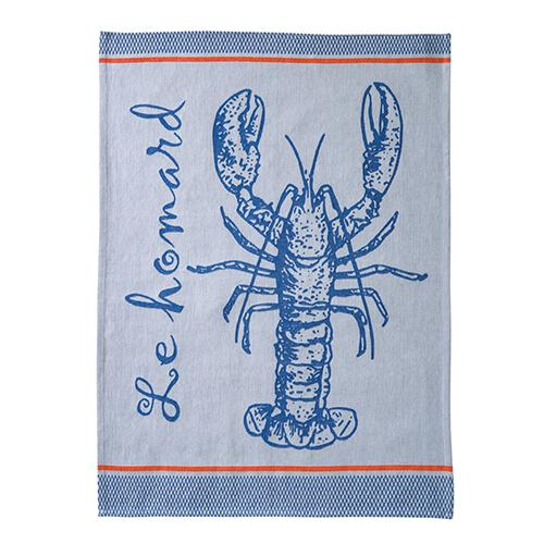 Le Homard Lobster Tea Towel