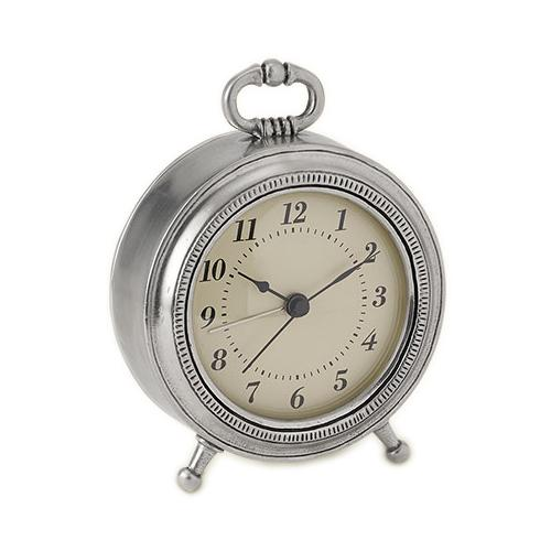 Toscana Alarm Clock by Match Pewter