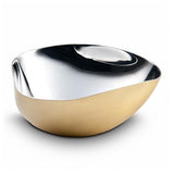 Arroyo Triangle Bowl Brass Plated by Mary Jurek Design