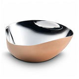 Arroyo Triangle Bowl Copper Plated by Mary Jurek Design