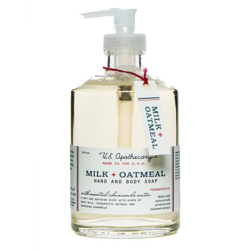 Milk & Oatmeal Hand Soap by U.S. Apothecary