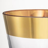 "Femme Fatale 16.5"" Gold Vase by Rony Plesl for Ruckl"