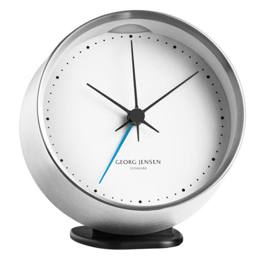Clock and Weather Holder by Henning Koppel for Georg Jensen