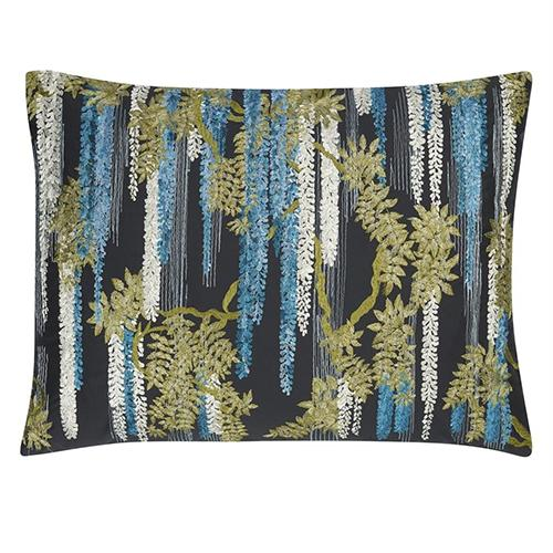 "Wisteria Alba Ruisseau 24"" x 18"" Rectangular Pillow by Christian Lacroix"