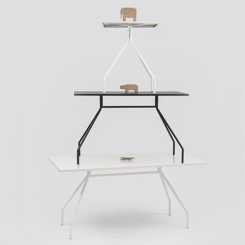 X&Y Table by Paolo Rizzatto for Danese Milano